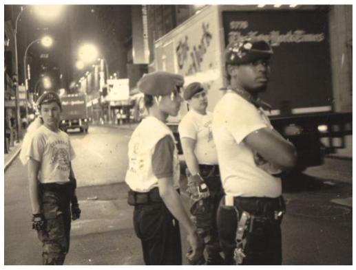 First NYC patrol in 1979